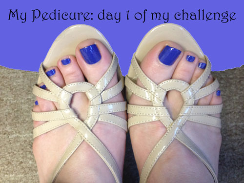 Day 1 yoga toes