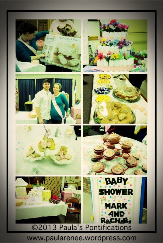 Rachael and Mark's  Shower Collage