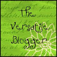 Paula's Pontifications receives the Versitile Blogger Award