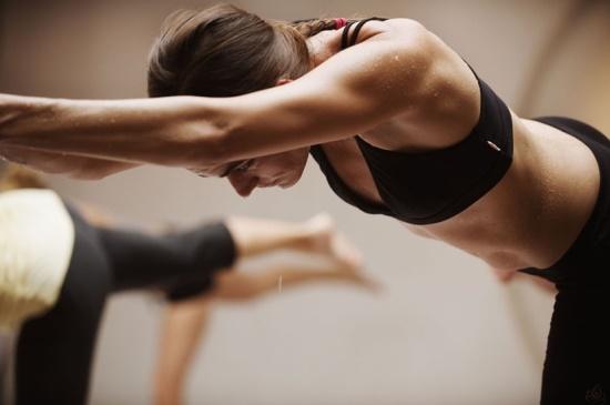 Bikram yoga - balancing stick