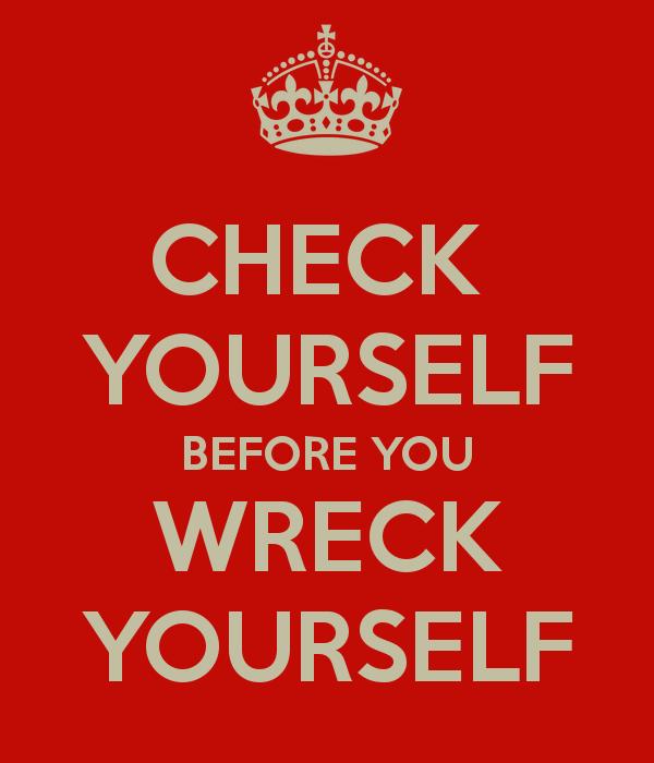 Check yourself - Paula Carrasquillo