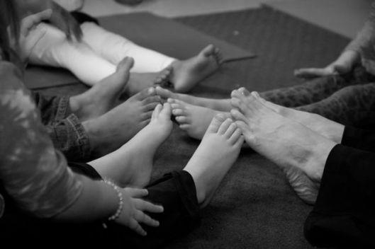 yoga toes kids